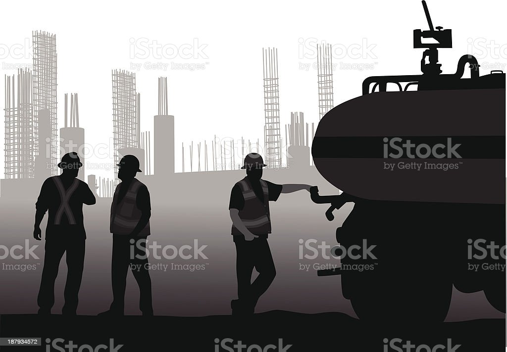 Construction Supply royalty-free stock vector art