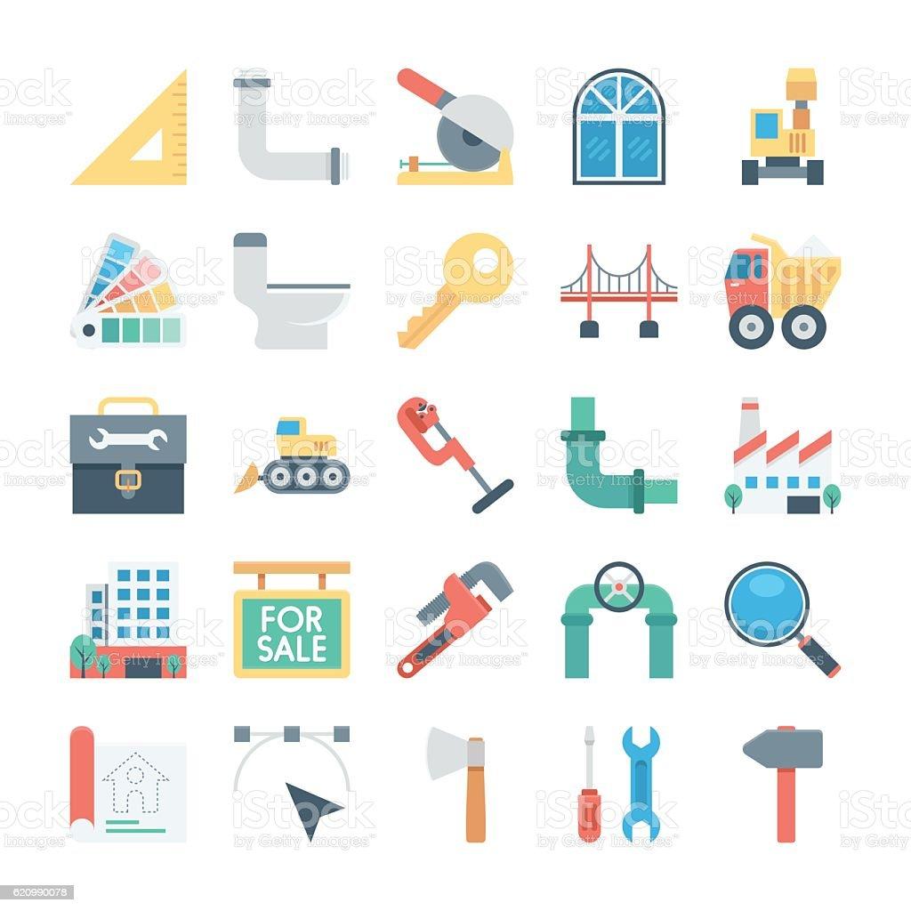 Construction Vector Icon 5 vector art illustration