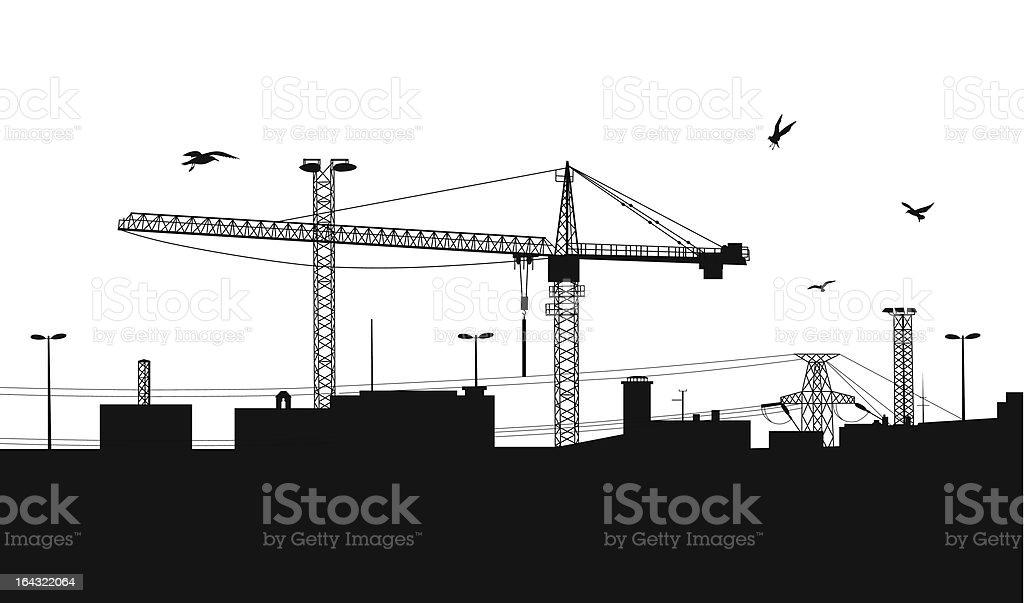 Construction. royalty-free stock vector art