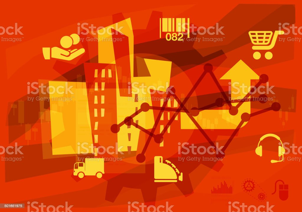 Consumerism royalty-free stock vector art