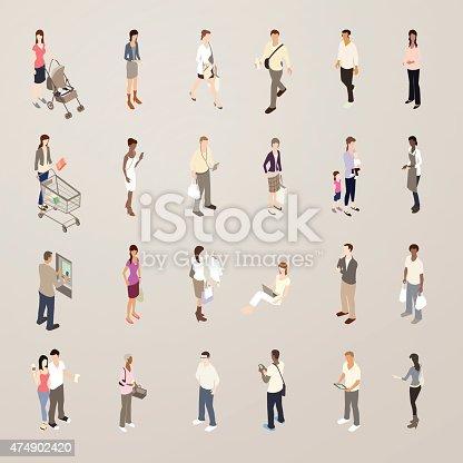 Consumers illustration