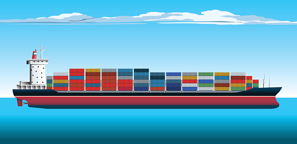 clipart container ship - photo #6