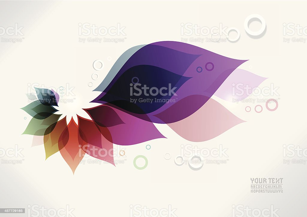 contemporary artwork background vector art illustration