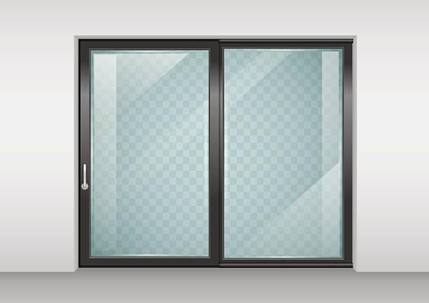 Sliding door clip art vector images illustrations istock
