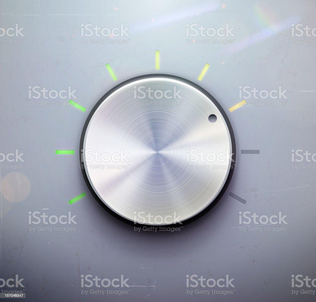 control knob royalty-free stock vector art