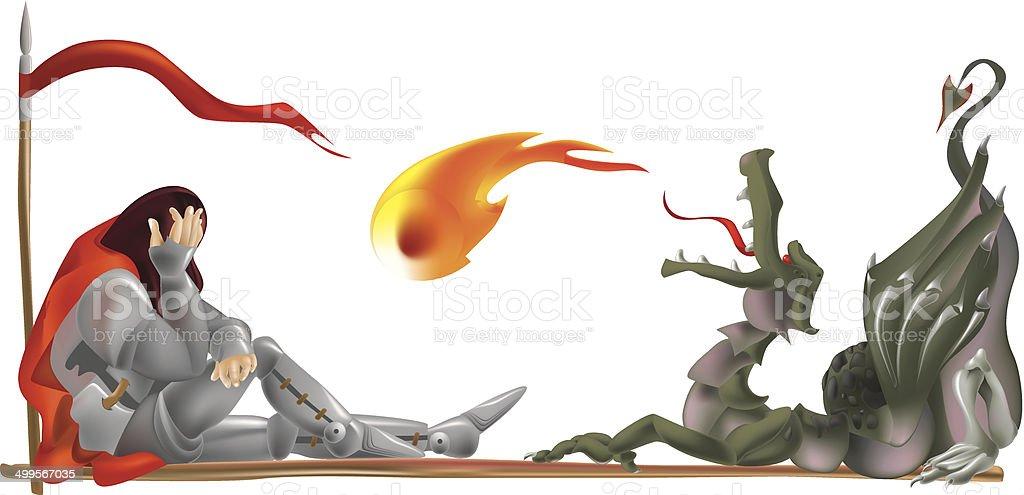 Contusion vector art illustration