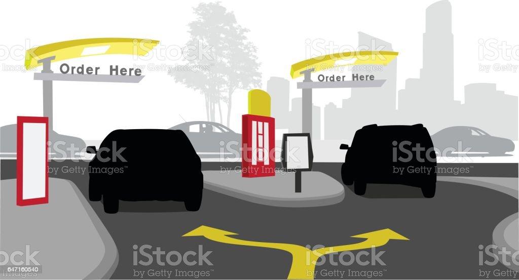 Convenience Food vector art illustration