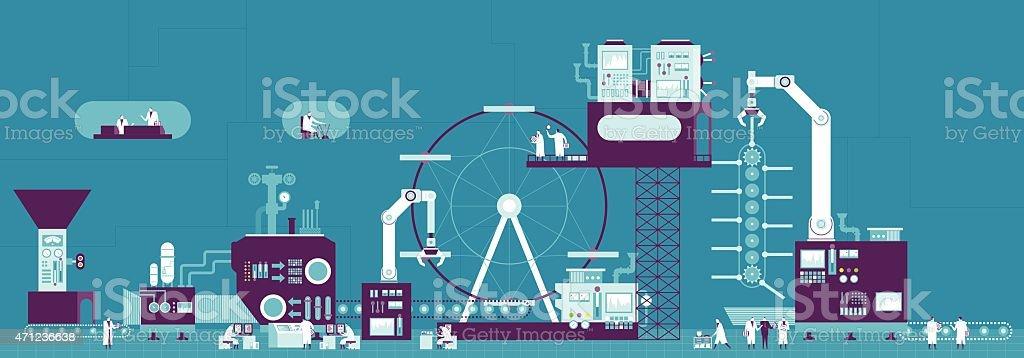 Conveyor belt illustration