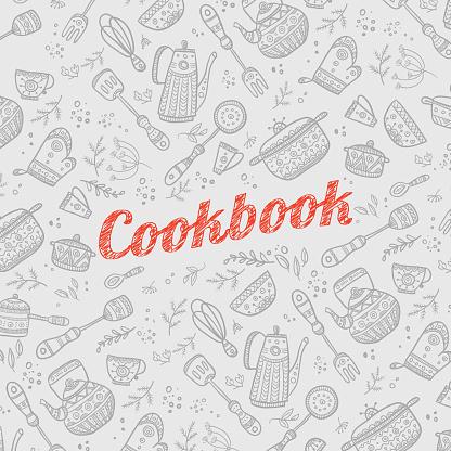 Recipe Book Cover Background