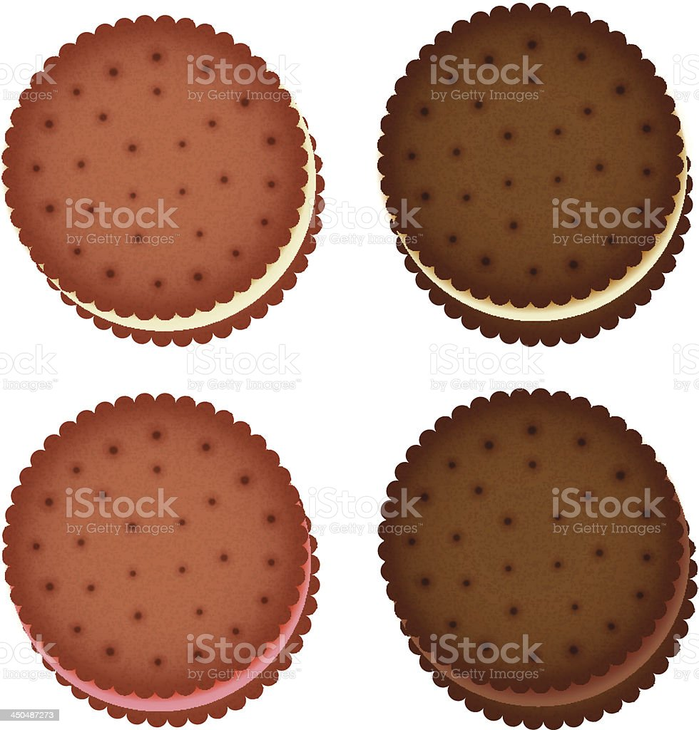 cookie Collection Vector EPS10 vector art illustration