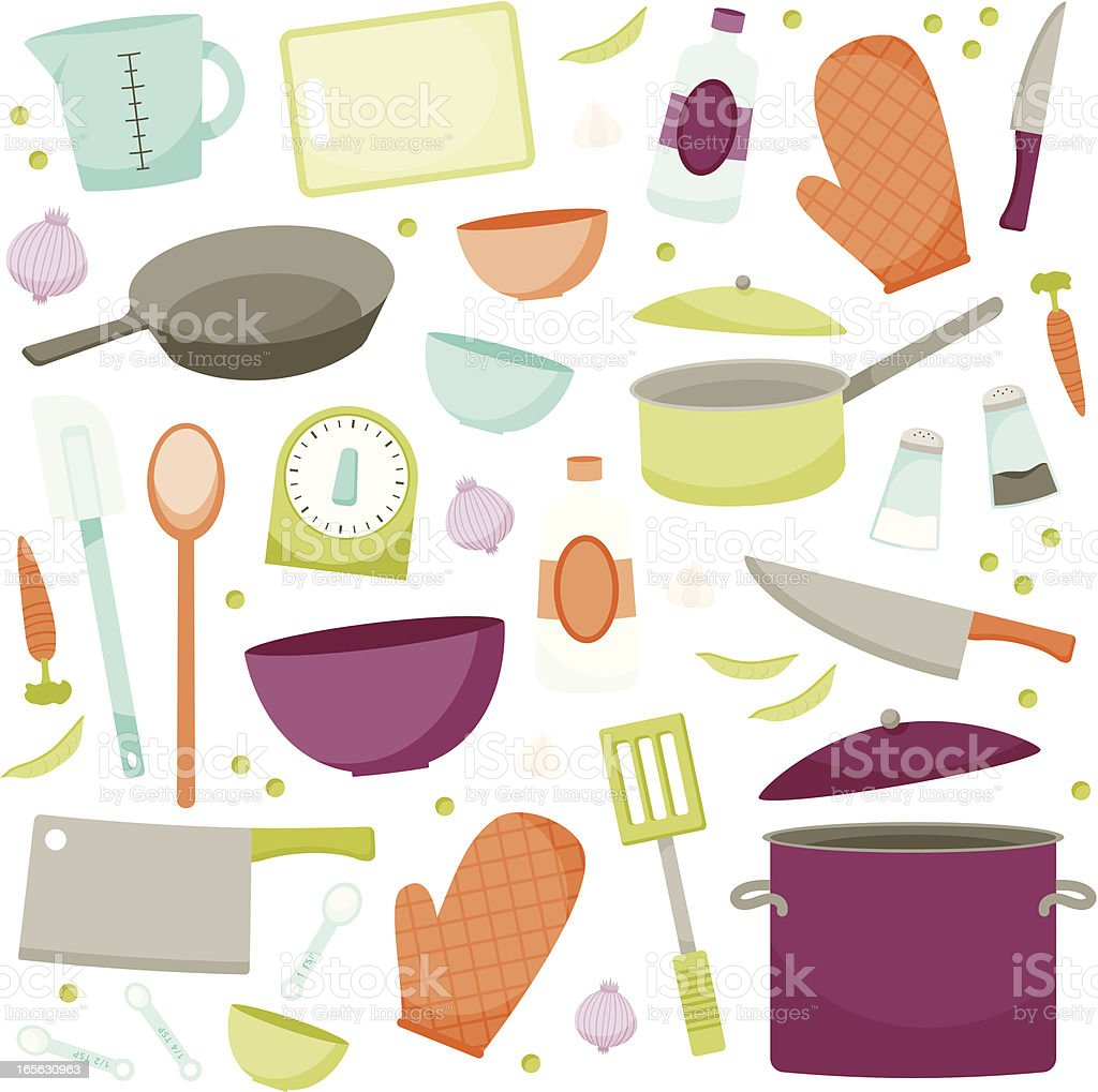 Cooking Goods royalty-free stock vector art