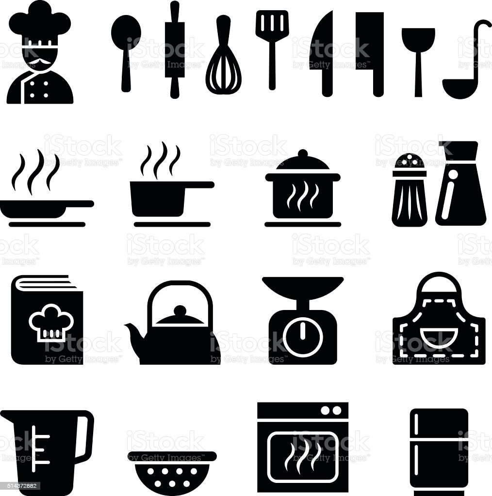 Cooking icon vector art illustration