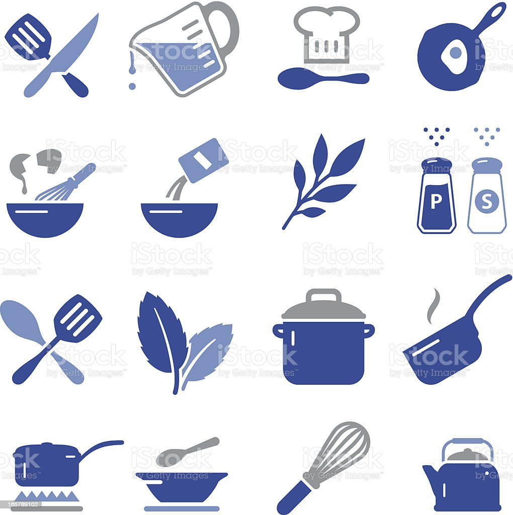 Cooking Icons - Pro Series vector art illustration
