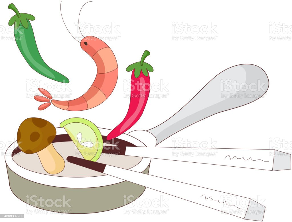 cooking ingredients royalty-free stock vector art