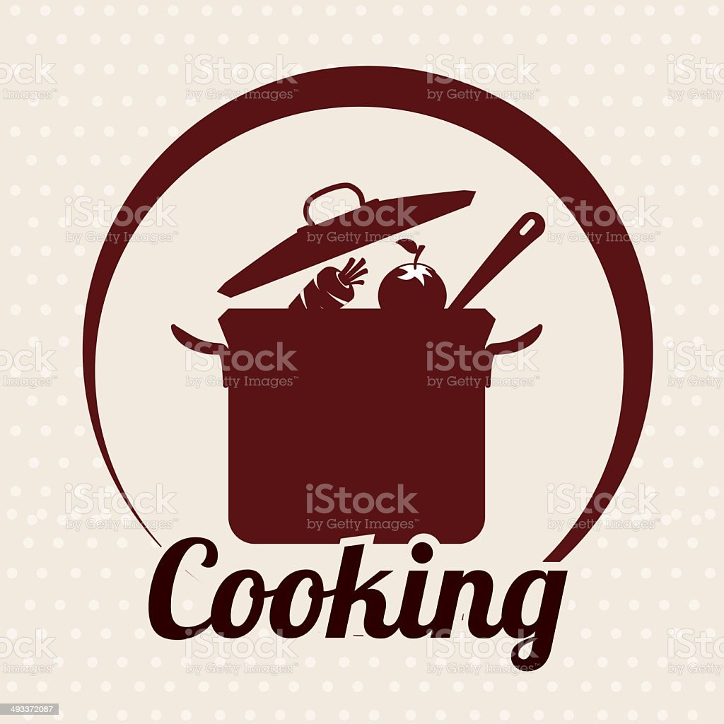 cooking vector art illustration
