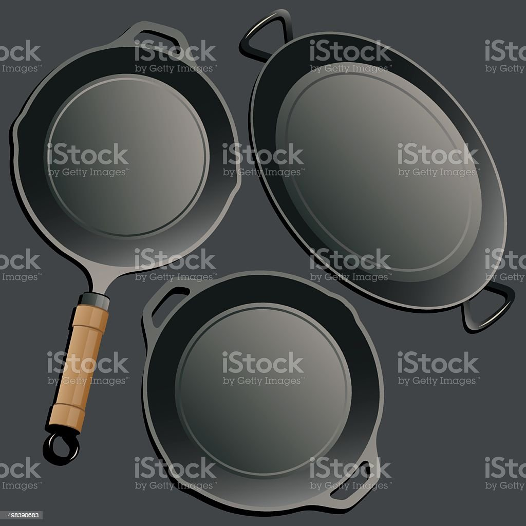 Cookware set. royalty-free stock vector art