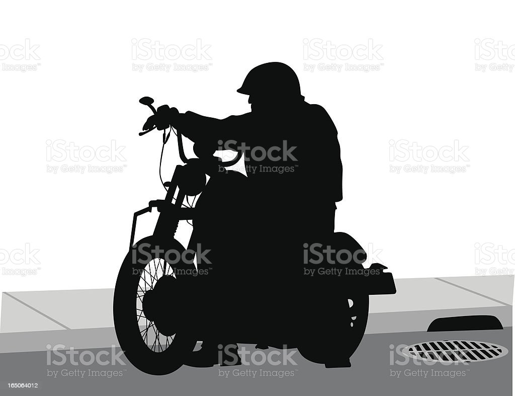 CoolBike royalty-free stock vector art