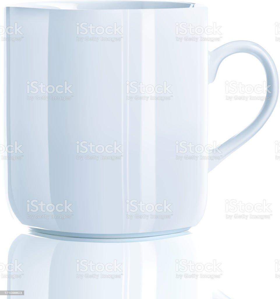 Cool tea cup royalty-free stock vector art
