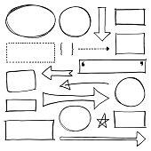 Copy Space Design Element Set