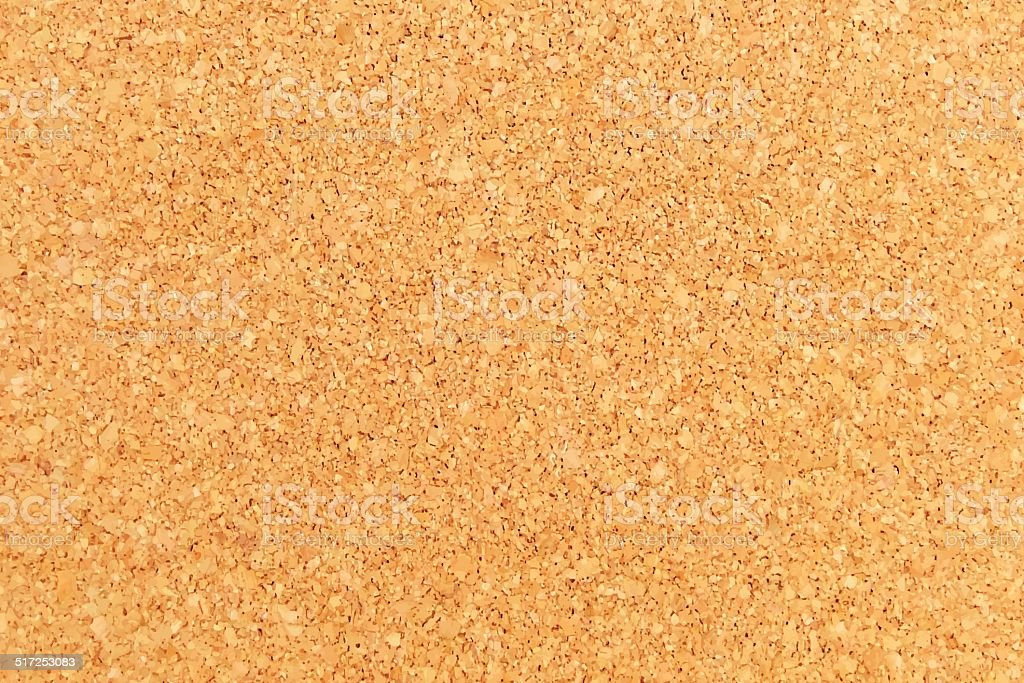 Cork Background - Cork Board Texture vector art illustration