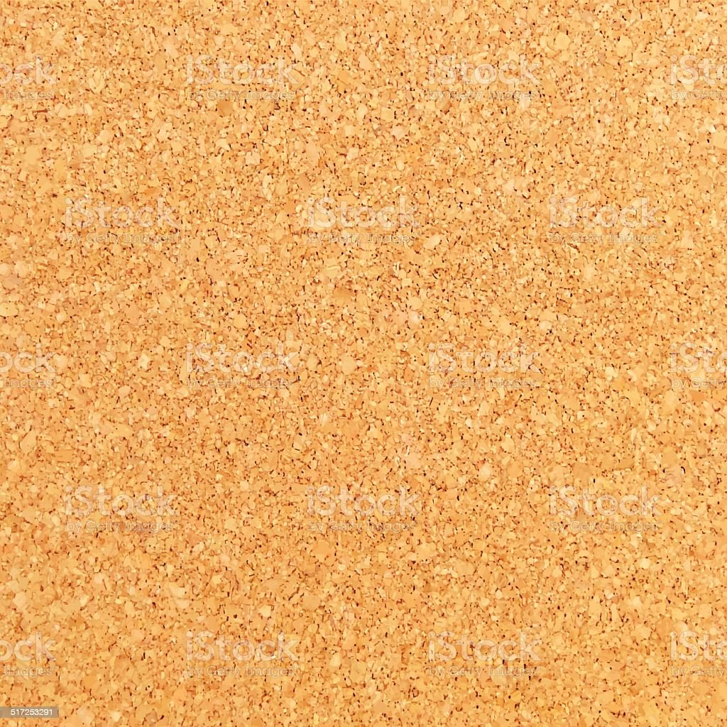 Cork Background - Cork Board Texture vector art illustration