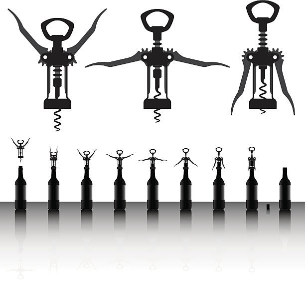 corkscrew clip art vector images illustrations istock. Black Bedroom Furniture Sets. Home Design Ideas