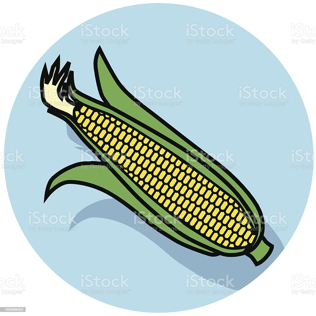 corn icon royalty-free stock vector art