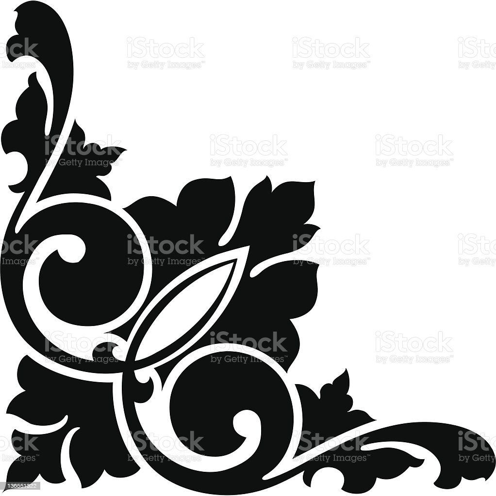 corner1 royalty-free stock vector art