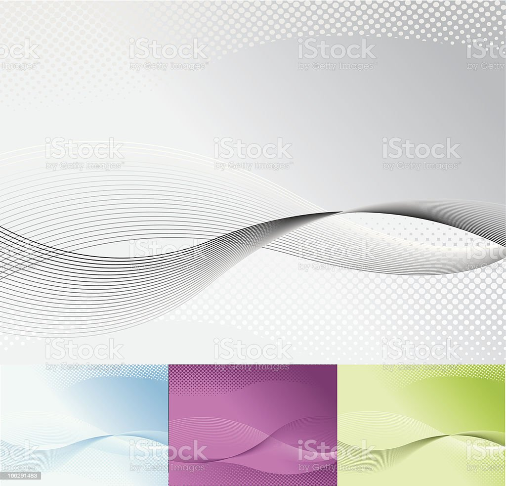 Corporate abstract background vector art illustration