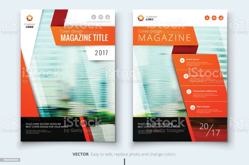 Corporate business annual report cover, brochure or flyer design....