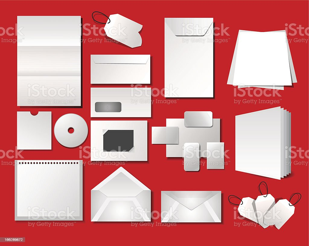 Corporate office templates royalty-free stock vector art