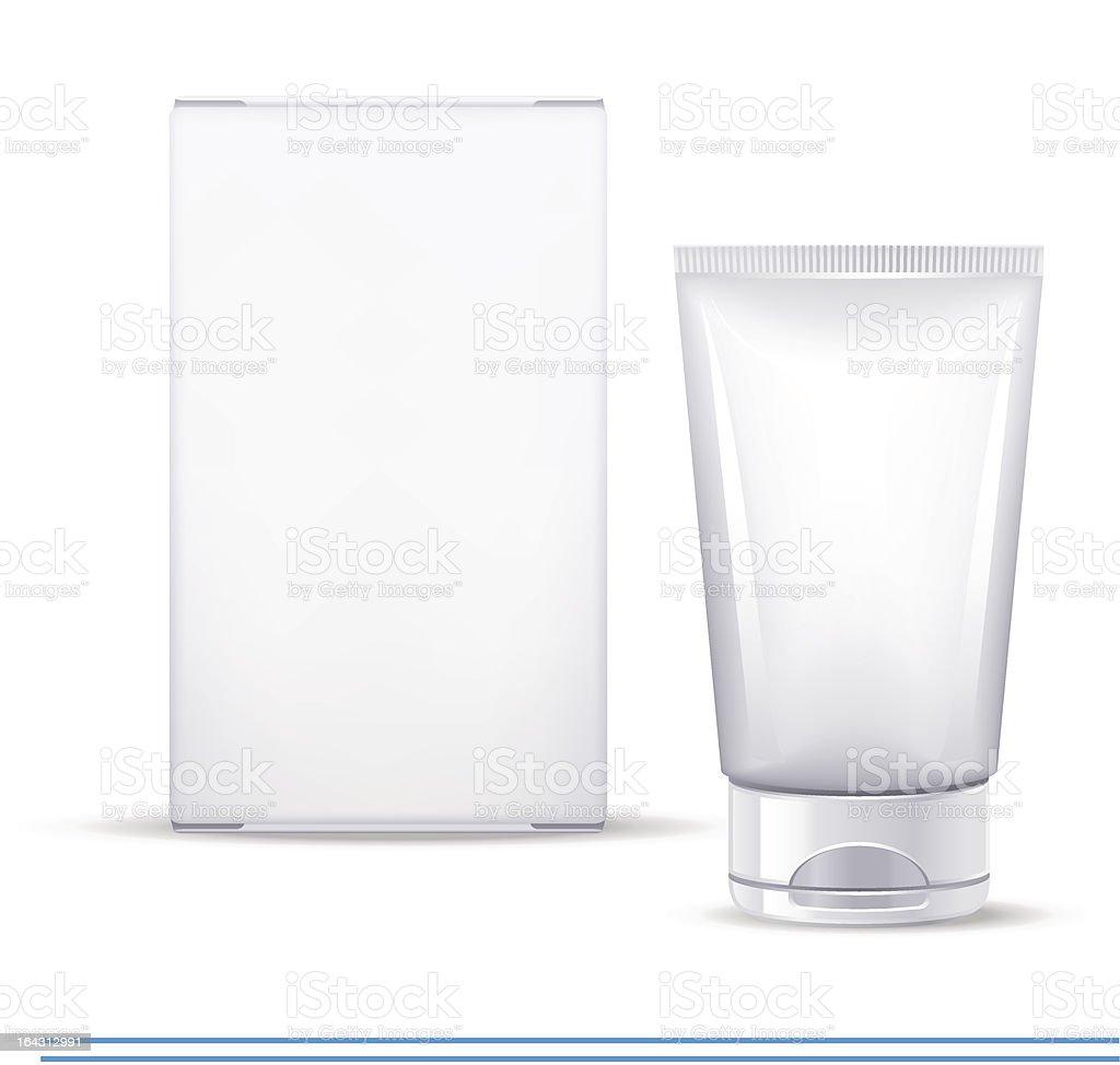 cosmetics tube royalty-free stock vector art