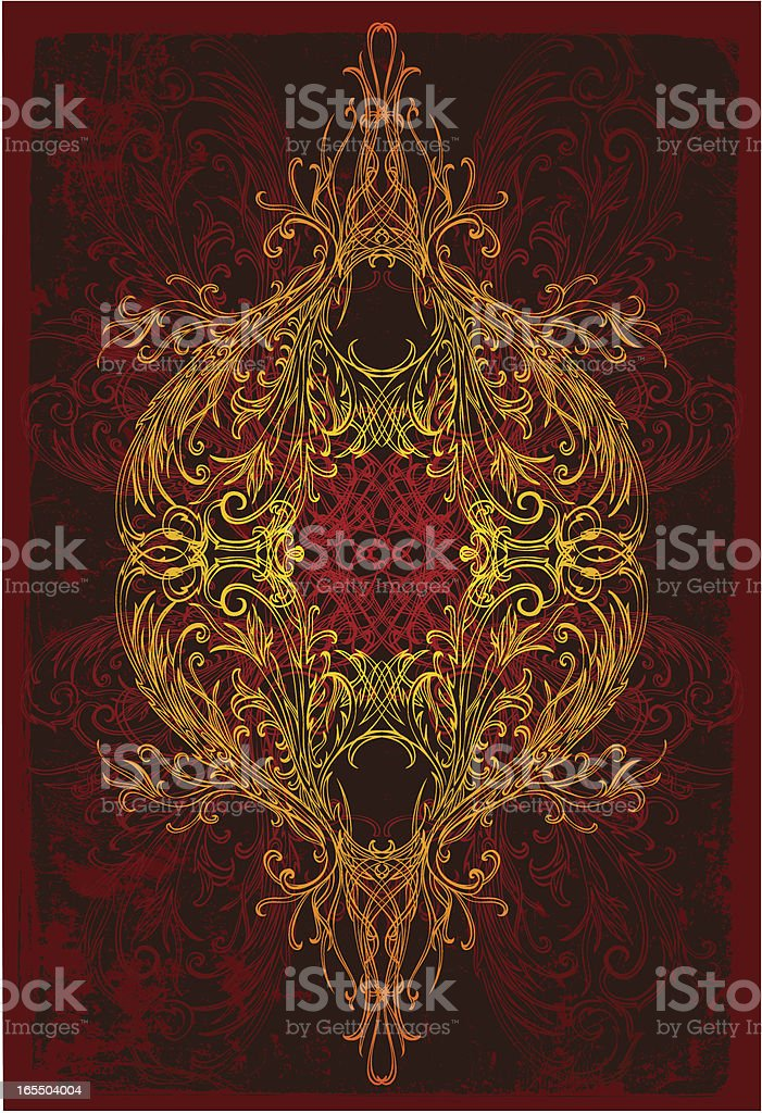 Kosmische Eleganz Lizenzfreies vektor illustration