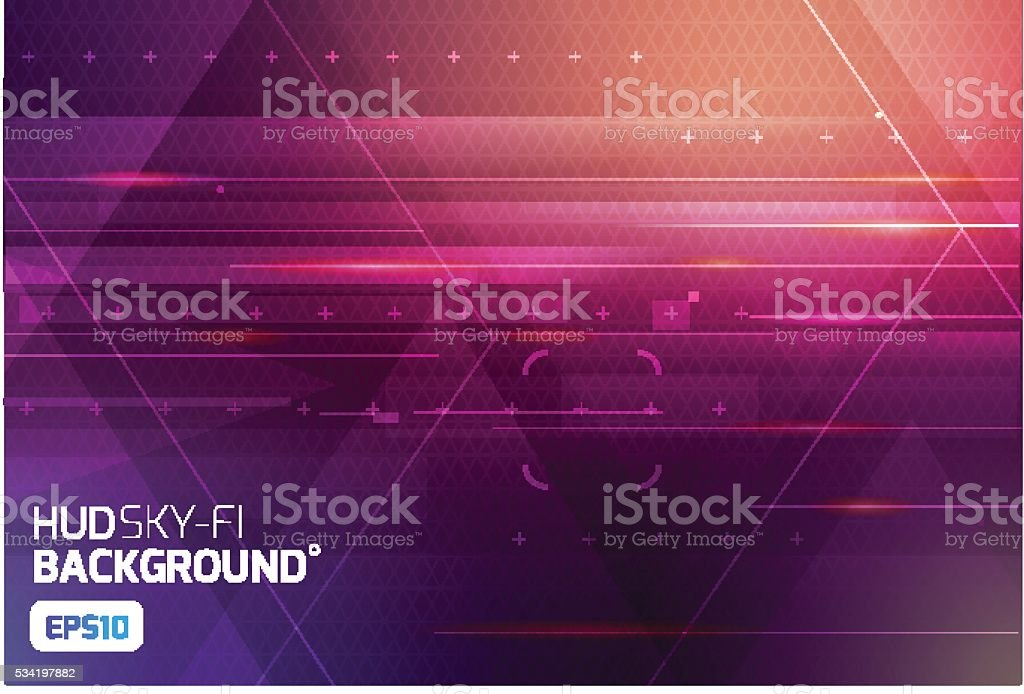 Cosmic shining abstract background vector art illustration