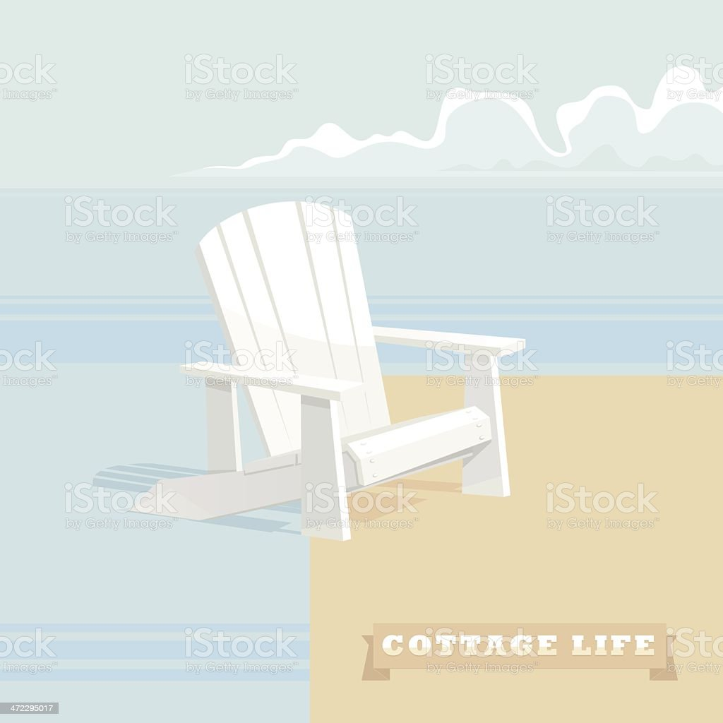 Cottage Life royalty-free stock vector art