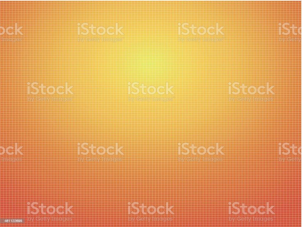 Cotton background orange vector art illustration