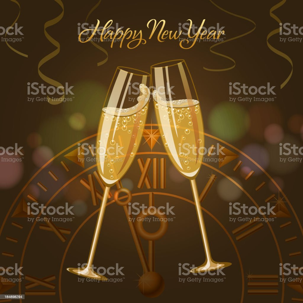 Countdown Party royalty-free stock vector art
