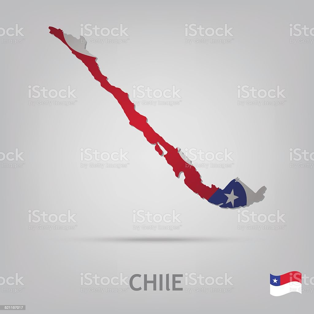 country chile vector art illustration