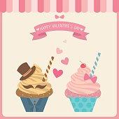 couple cupcakes