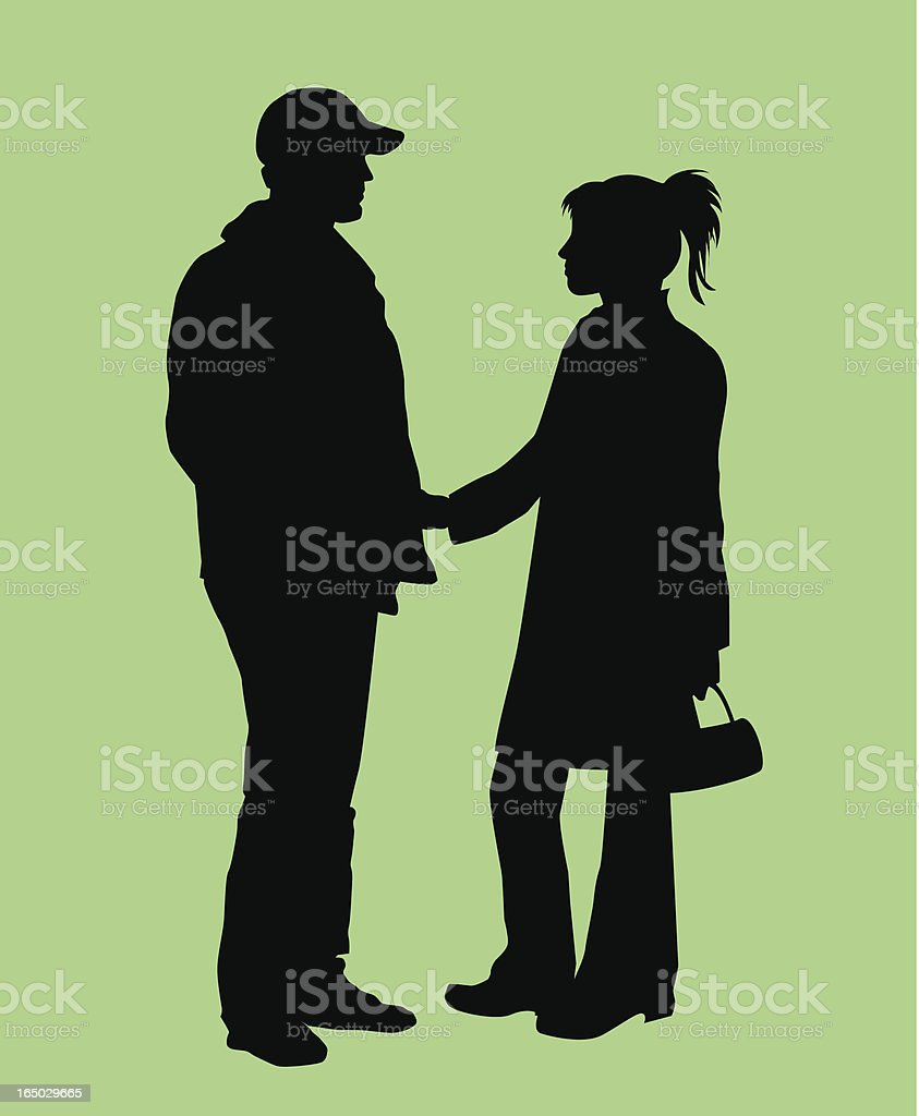 Couple ( VECTOR ) royalty-free stock vector art