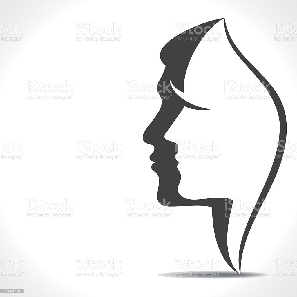 couple vector vector art illustration