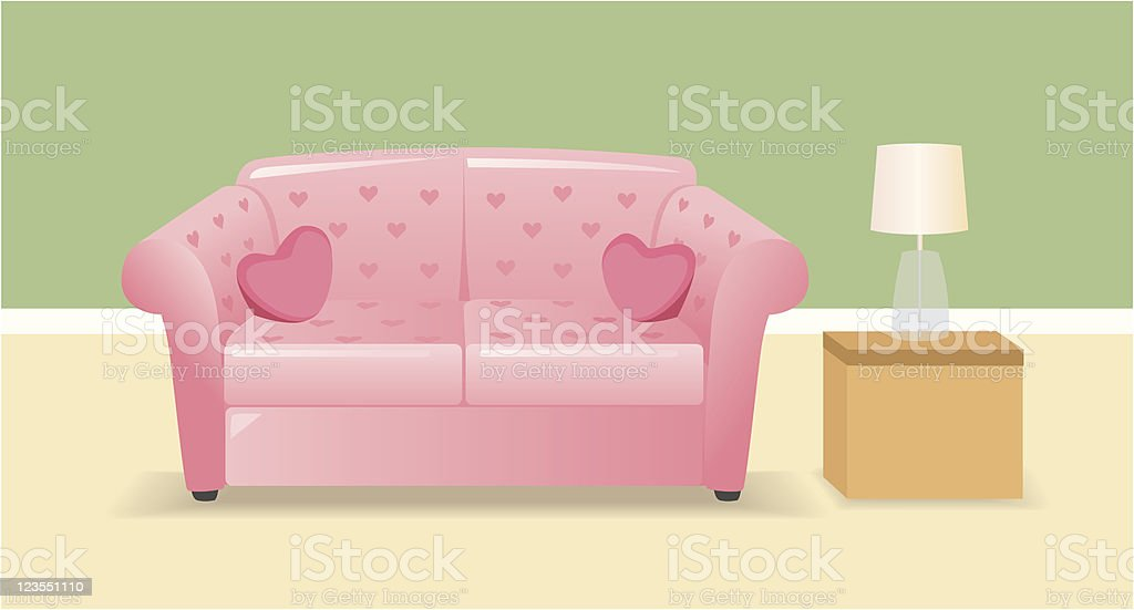 Couple Wanted royalty-free stock vector art