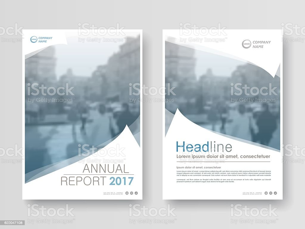 Cover design annual report royalty-free stock vector art