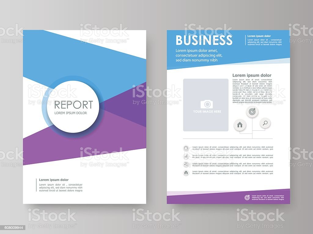 cover design annual reportvector template brochures stock vector cover design annual report vector template brochures royalty stock vector art