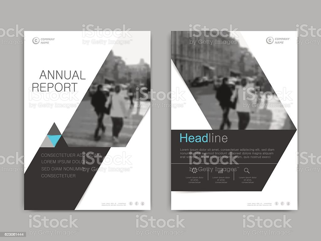 Cover design annual report,vector template brochures royalty-free stock vector art
