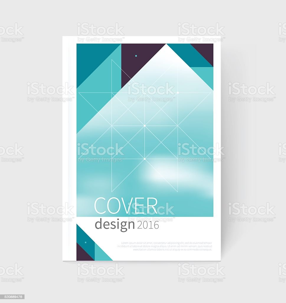 cover design brochure flyer annual report cover template stock 1 credit