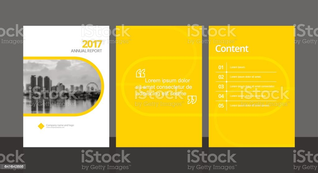 Cover Design For Annual Report Or Business Catalog Magazine Flyer – Sample Annual Report of a Company