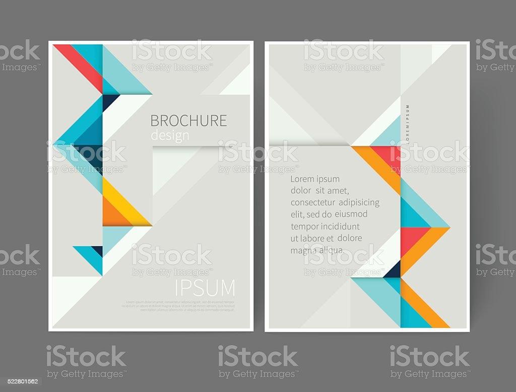 Cover design template vector art illustration