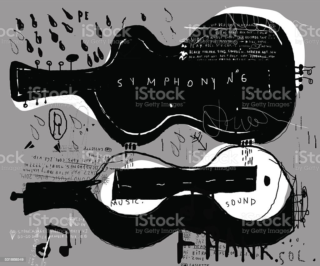 Cover vector art illustration