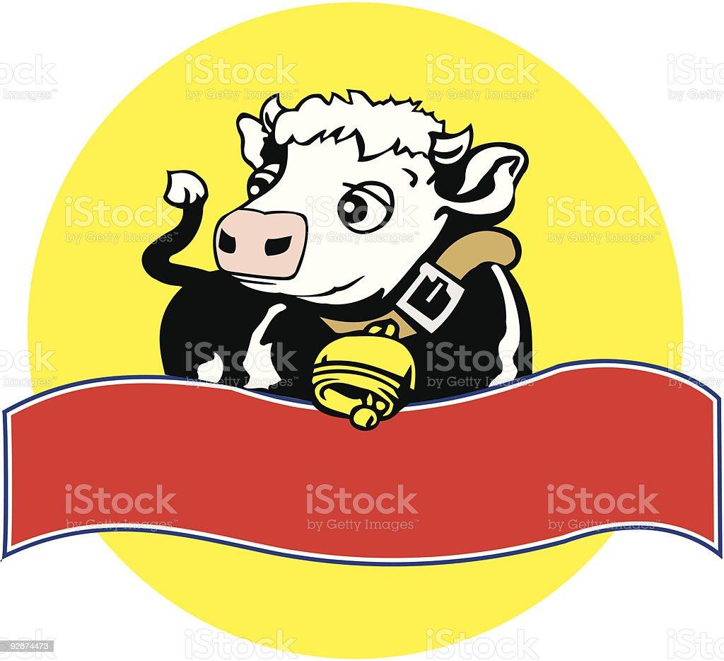 De vache stock vecteur libres de droits libre de droits